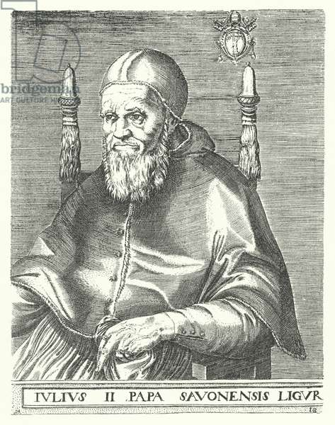 Pope Julius II (engraving)