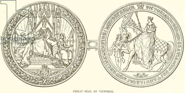 Great Seal of Victoria (engraving)