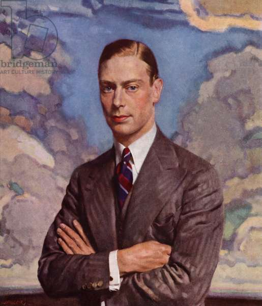 King George VI (colour litho)