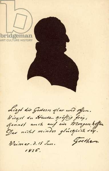 Johann Wolfgang von Goethe (litho)