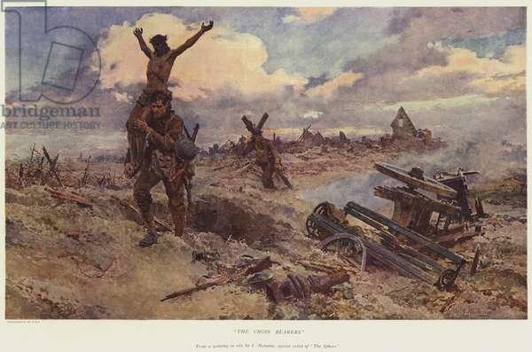 The Cross bearers (colour litho)