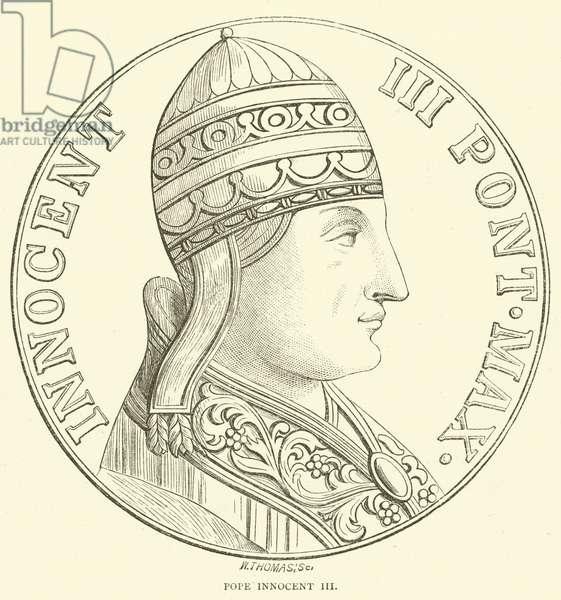 Pope Innocent III (engraving)