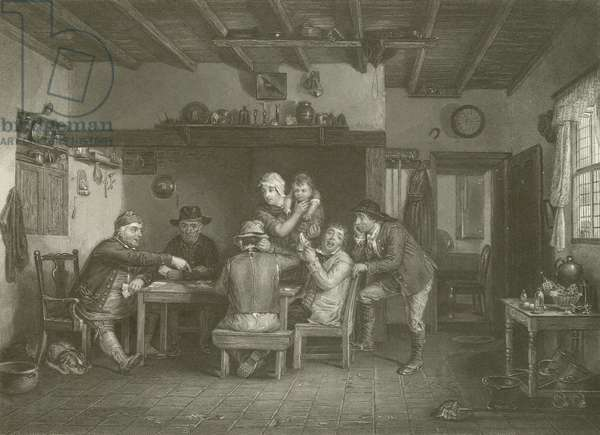 The Card Players (engraving)