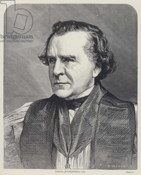 Samuel Wilberforce, DD (engraving)