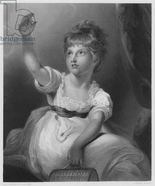 The Princess Charlotte, from the picture in the Royal Collection (engraving)