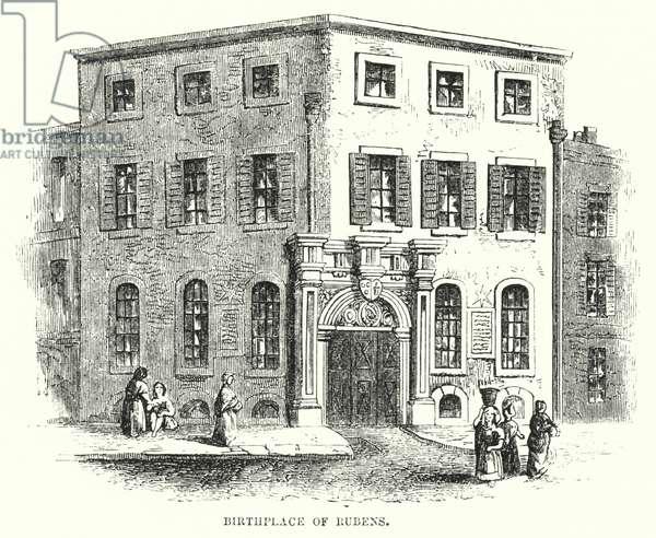 Birthplace of Rubens (engraving)