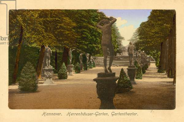 Hannover, Herrenhauser-Garten, Gartentheater (colour photo)