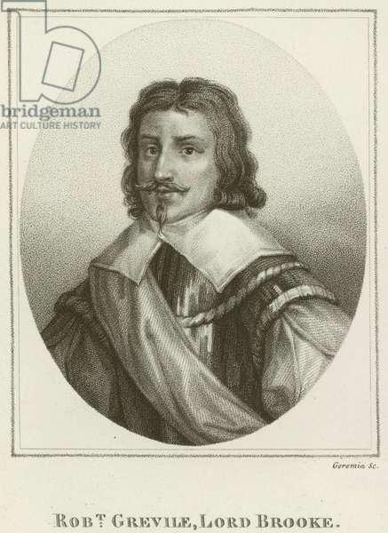Robert Grevile, Lord Brooke (engraving)