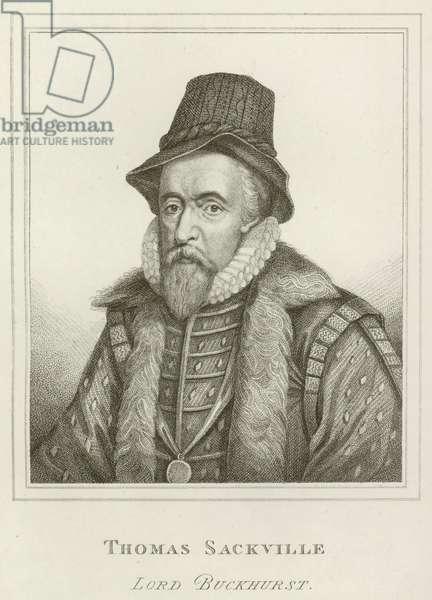 Thomas Sackville, Lord Buckhurst (engraving)