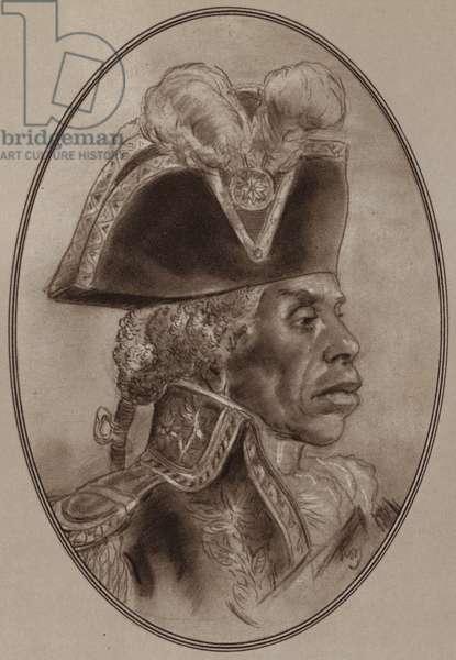 Portrait of Toussaint L'Ouverture (litho)
