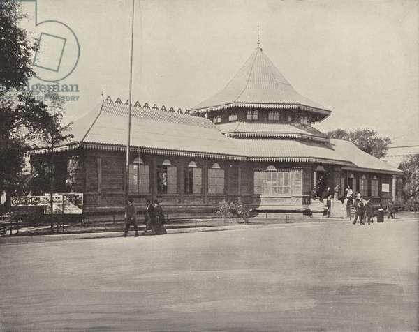 The Ceylon Building (b/w photo)