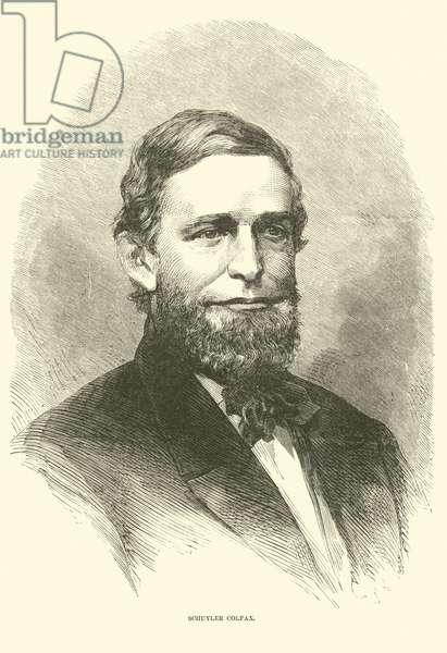 Schuyler Colfax, December 1865 (engraving)