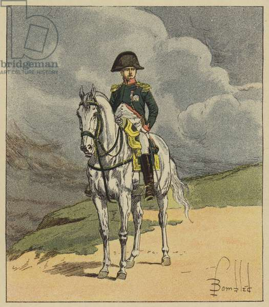 Napoleon Bonaparte (colour litho)