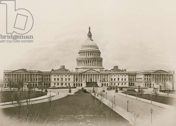The Capitol, Washington (photogravure)
