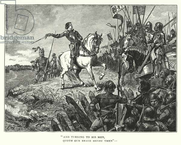 The Battle Of Agincourt (engraving)