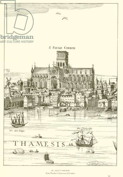 St. Paul's Church (engraving)