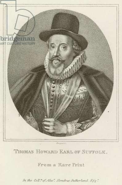 Thomas Howard, Earl of Suffolk (engraving)