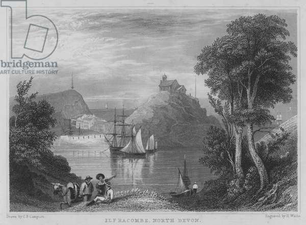 Ilfracombe, North Devon (engraving)