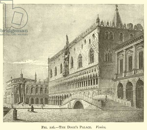 The Doge's Palace, Venice (engraving)