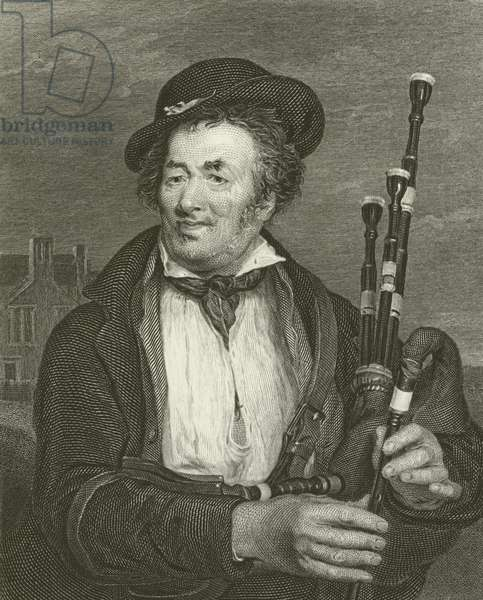 The Bag Piper (engraving)