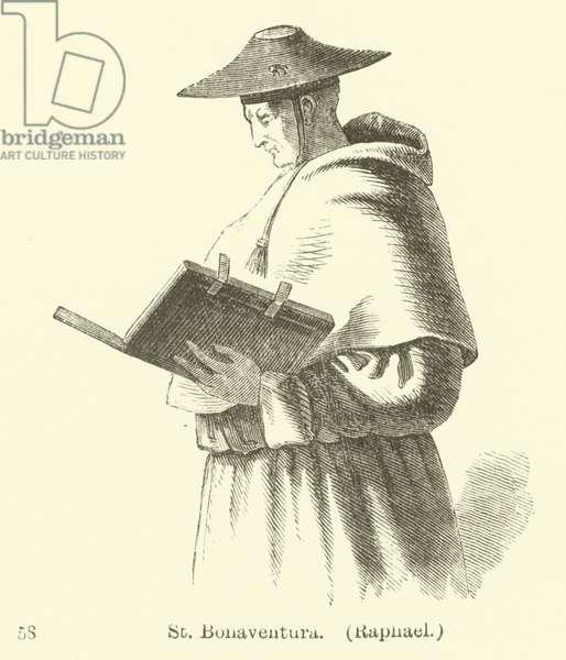 St Bonaventura, Raphael (engraving)
