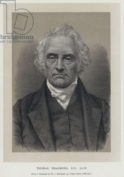 Thomas Chalmers, DD, LLD (engraving)