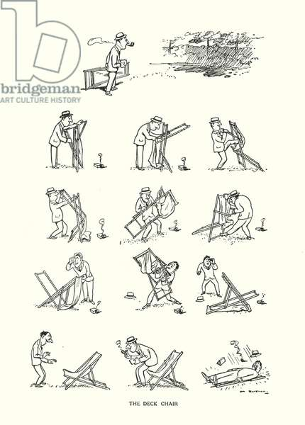 The Deck Chair (litho)