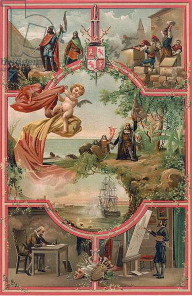 Spanish History - Frontispiece