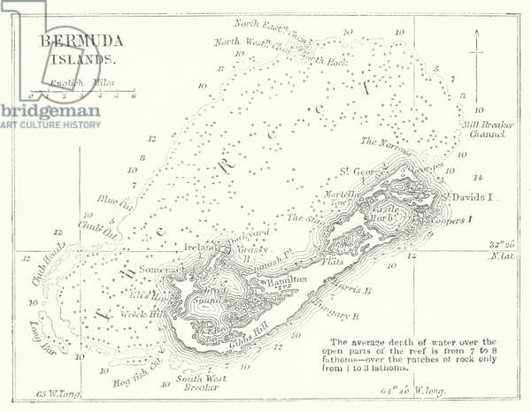 Bermuda Islands (engraving)