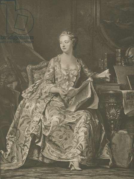 Madame De Pompadour (litho)
