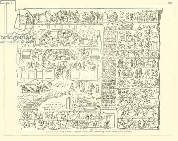 Homer's Iliad (engraving)