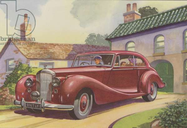 Bentley (colour litho)