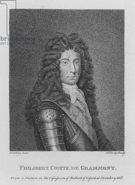Philibert Comte de Grammont (engraving)