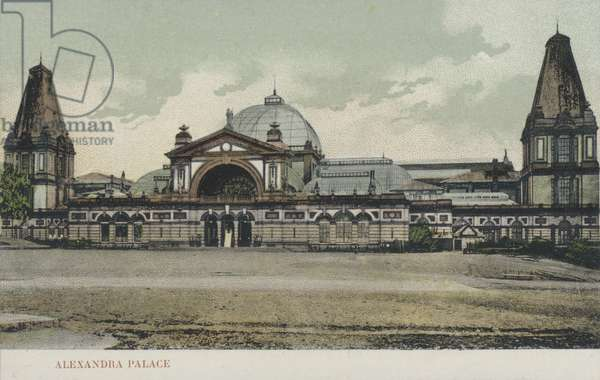 Alexandra Palace, London (colour photo)