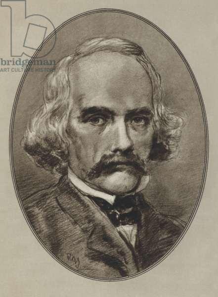 Nathaniel Hawthorne (litho)