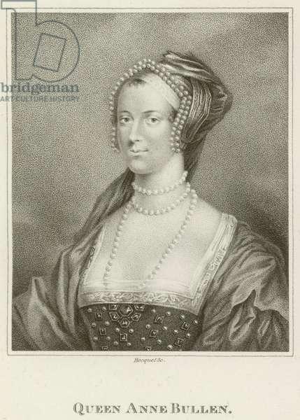 Queen Anne Bullen (engraving)