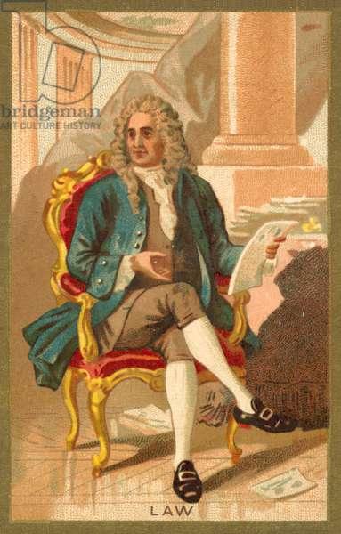 John Law (chromolitho)