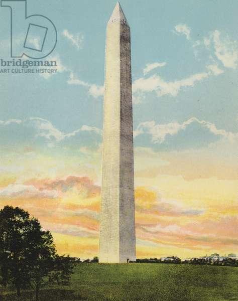 Washington DC: Washington Monument (photo)