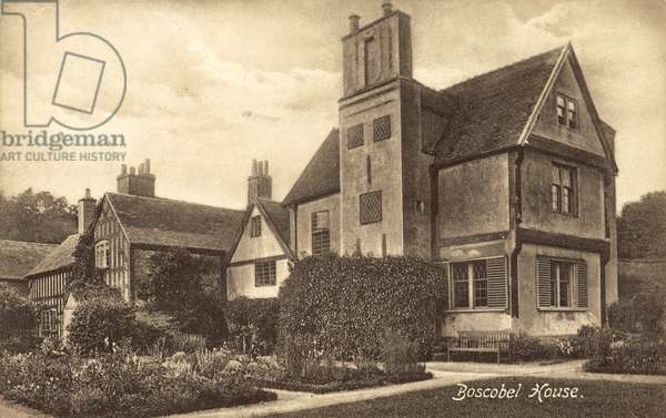 Boscobel House (b/w photo)