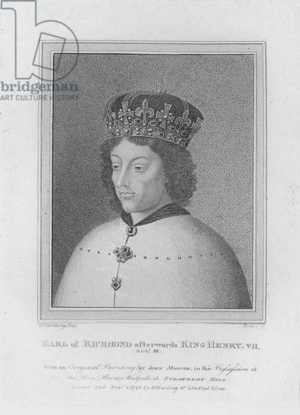 Earl of Richmond afterwards King Henry VII (engraving)