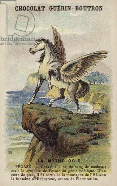 Pegasus (chromolitho)