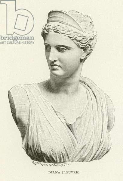 Diana, Louvre (engraving)