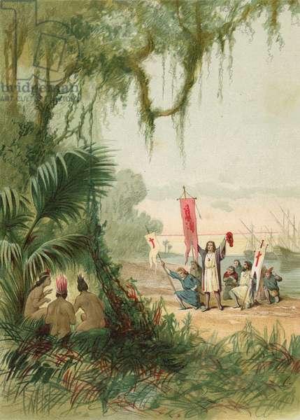 Landing of Columbus in San Salvador