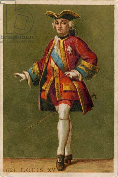 Louis XV (chromolitho)