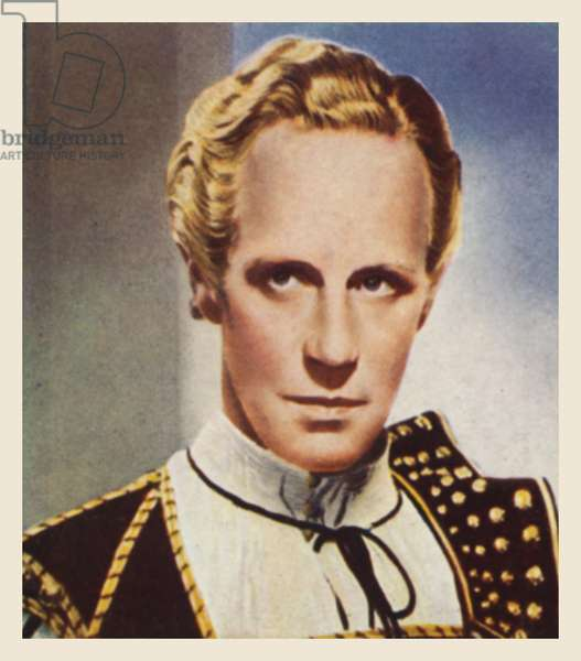 Leslie Howard, as Romeo (colour litho)