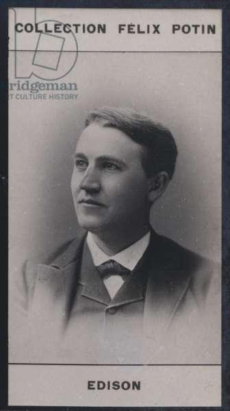 Thomas Edison (1847) (b/w photo)