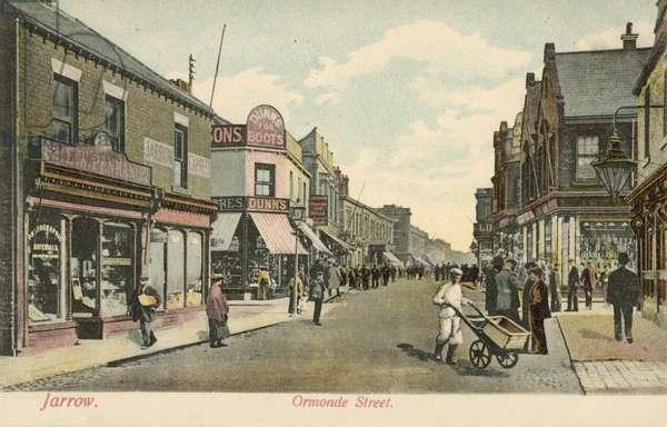 Ormonde Street, Jarrow (colour photo)