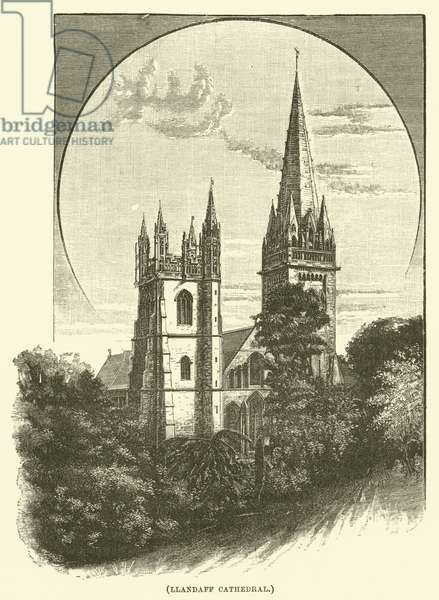 Llandaff Cathedral (engraving)