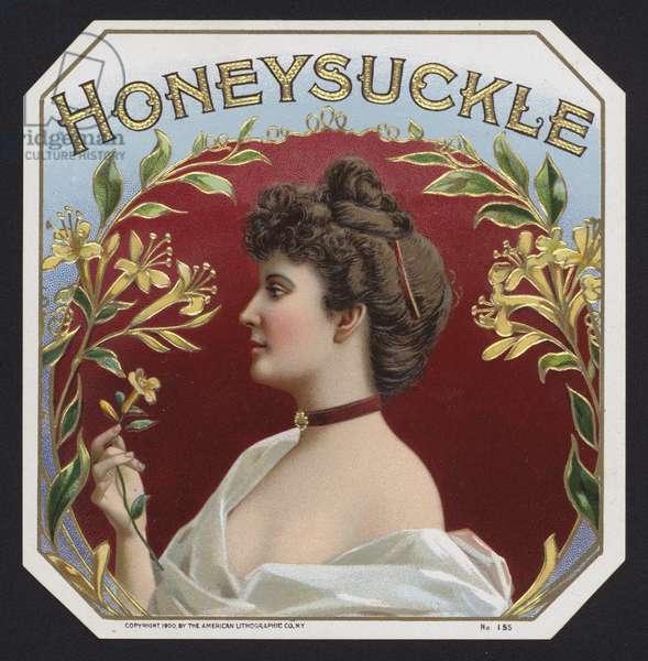 Honeysuckle (chromolitho)