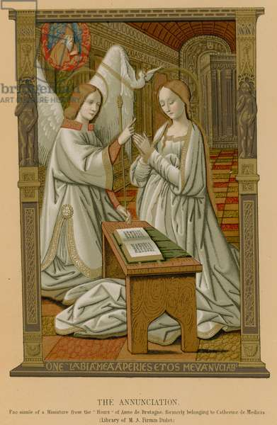 The Annunciation (chromolitho)